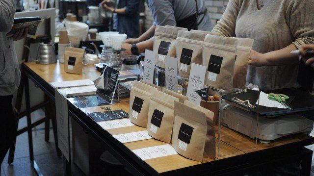 COFFEE COLLECTION around KANDA NISHIKICHO 2016 Spring_amameria espresso booth