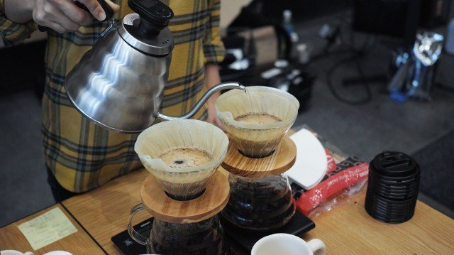 COFFEE COLLECTION around KANDA NISHIKICHO 2016 Spring_merry time pourover
