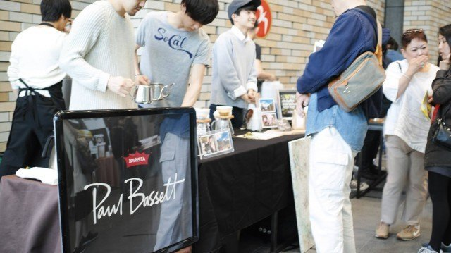 COFFEE COLLECTION around KANDA NISHIKICHO 2016 Spring_paul bassett booth
