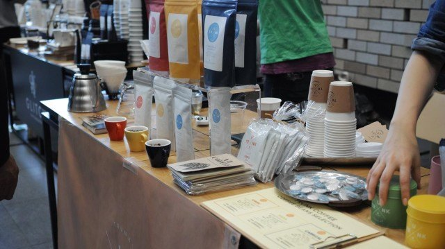 COFFEE COLLECTION around KANDA NISHIKICHO 2016 Spring_trunk coffee booth