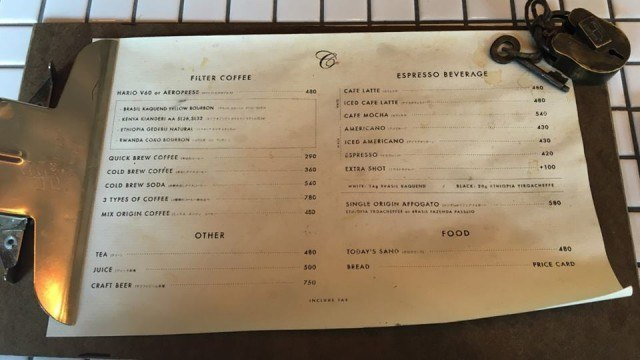 COUNTERPART COFFEE GALLERY_menu