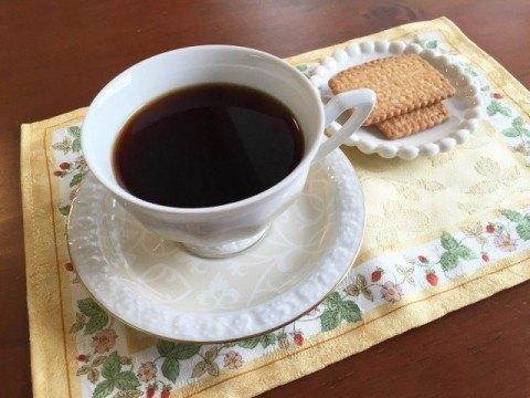 メープルシロップコーヒー完成