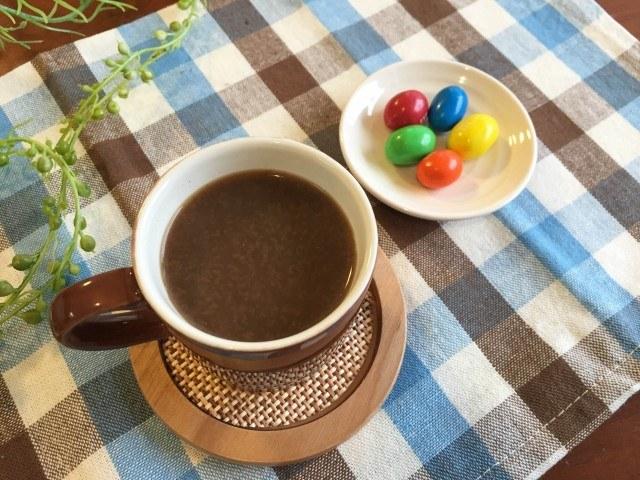 黒ごまコーヒー完成