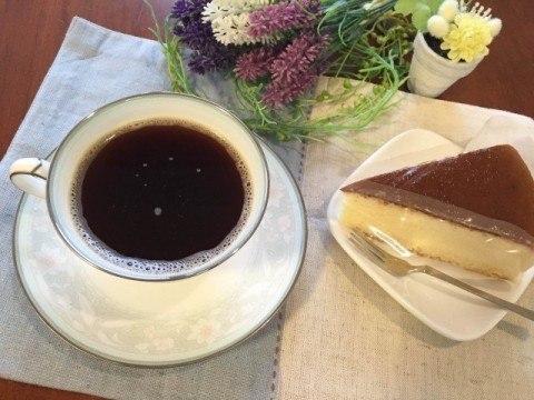 緑茶コーヒー完成