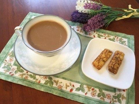 ジャスミン茶コーヒー完成
