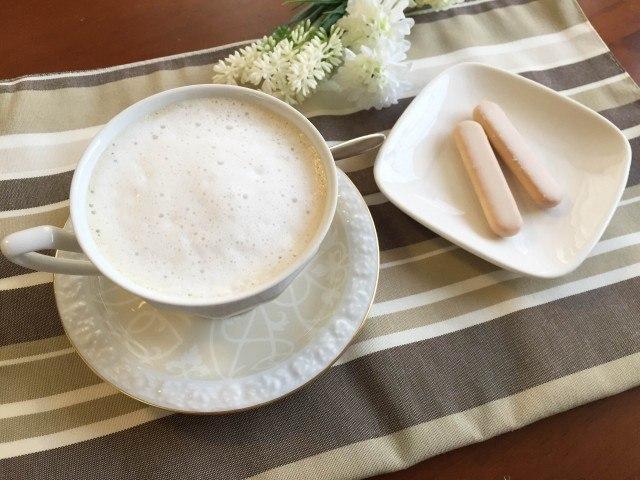 アサイーラテの作り方【フレーバーコーヒーのレシピ】