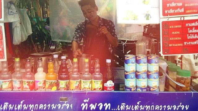 CoffeeatBangkok_タイティー屋台