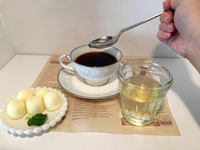 アセロラコーヒーアセロラジュースを入れる