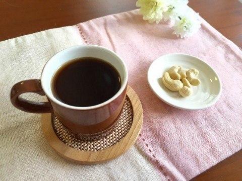黒酢コーヒー完成