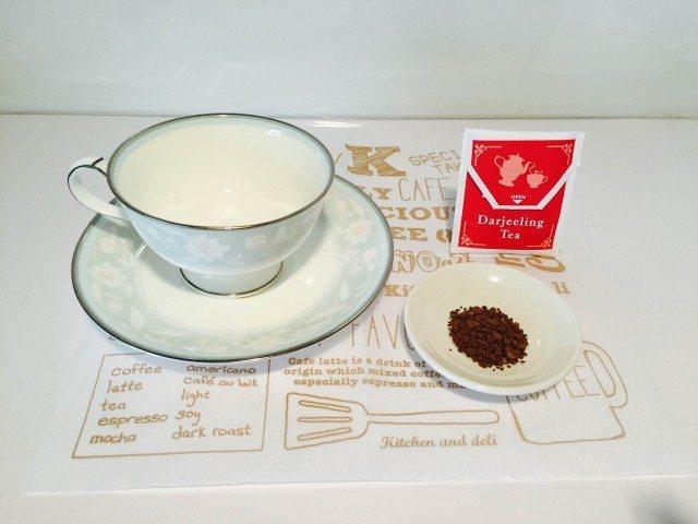ダージリンコーヒー材料