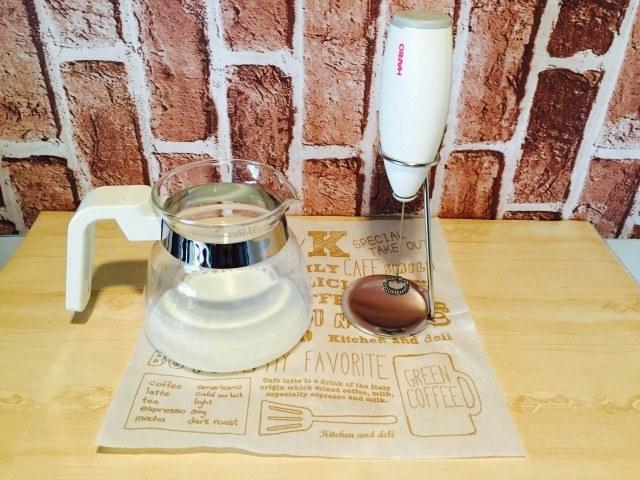 クッキーコーヒーミルクフォーマー