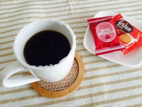 イチゴジャムコーヒー完成