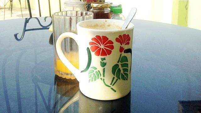 SANDHYAGUESTHOUSE_ミルクコーヒー