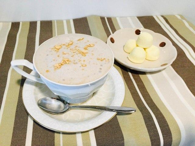 黒豆豆乳オレの作り方【フレーバーコーヒーのレシピ】