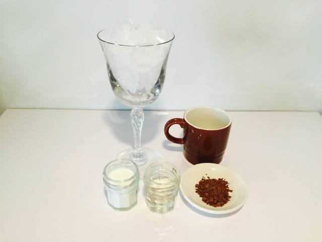 ミントコーヒー材料