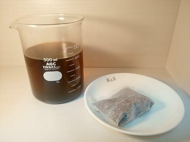深煎り豆の楽しみ方2_水出し