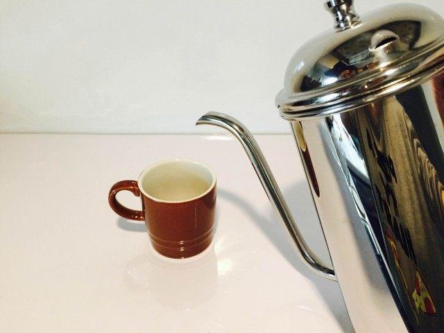 ミントコーヒーインスタントコーヒーを作る2