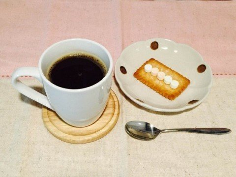ラムネコーヒー完成