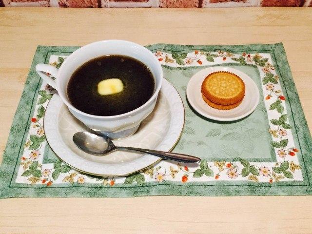 バターコーヒー完成