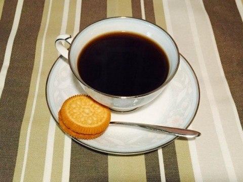 黒糖コーヒー完成