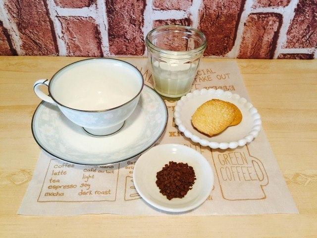 クッキーコーヒー材料