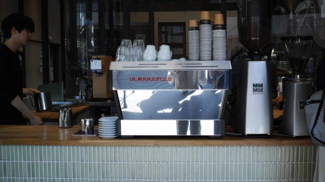 Allpress Espresso_espresso machine