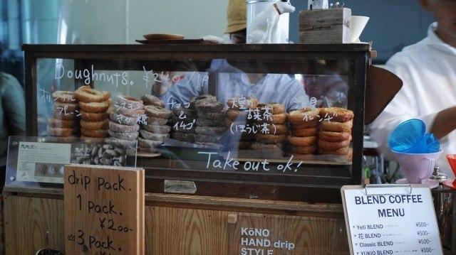 TOKYO COFFEE FESTIVAL 2016 spring_Yeti doughnuts