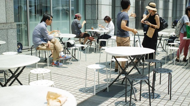 TOKYO COFFEE FESTIVAL 2016 spring_table
