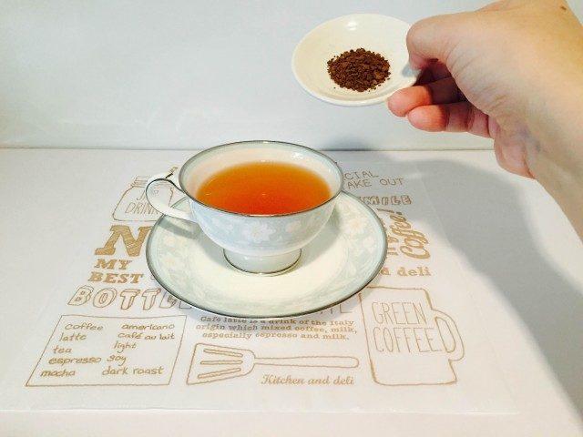 ダージリンコーヒーコーヒーを淹れる