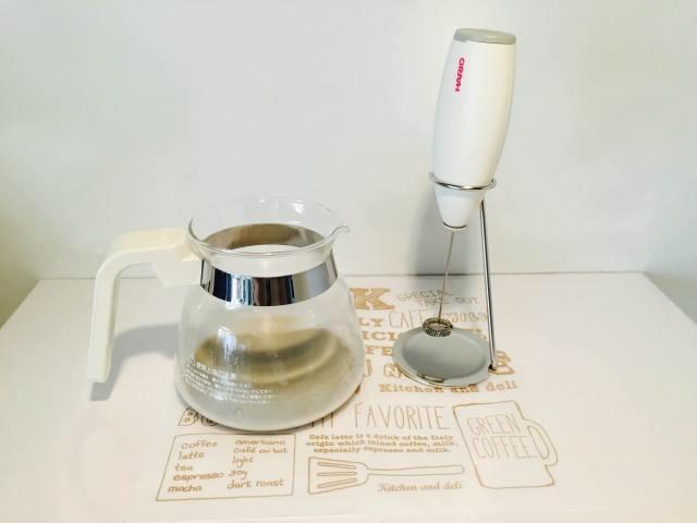 黒豆豆乳コーヒーフォームマシン