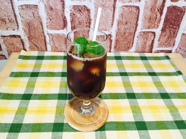 グレープフルーツアイスコーヒーの作り方【フレーバーコーヒーのレシピ】
