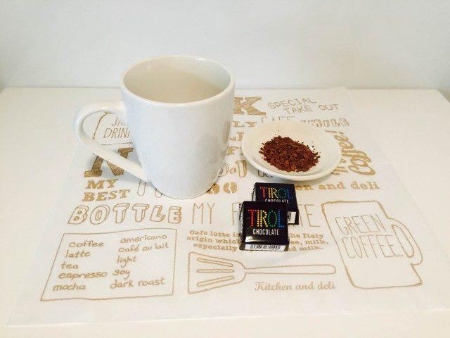 チロルチョココーヒー材料
