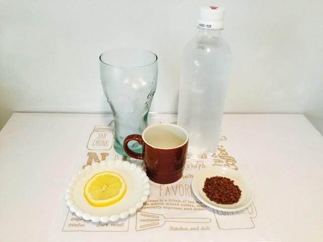 アイスコーヒーソーダ材料