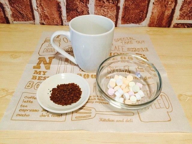 ラムネコーヒー材料