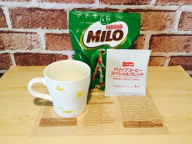 ミロコーヒー_材料