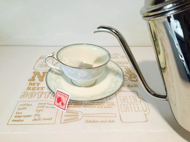 ダージリンコーヒーダージリンティーを作る