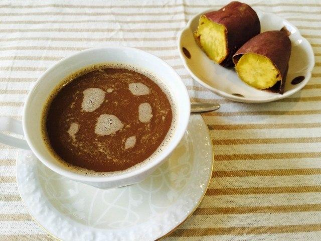 さつまいもコーヒーの作り方【フレーバーコーヒーのレシピ】