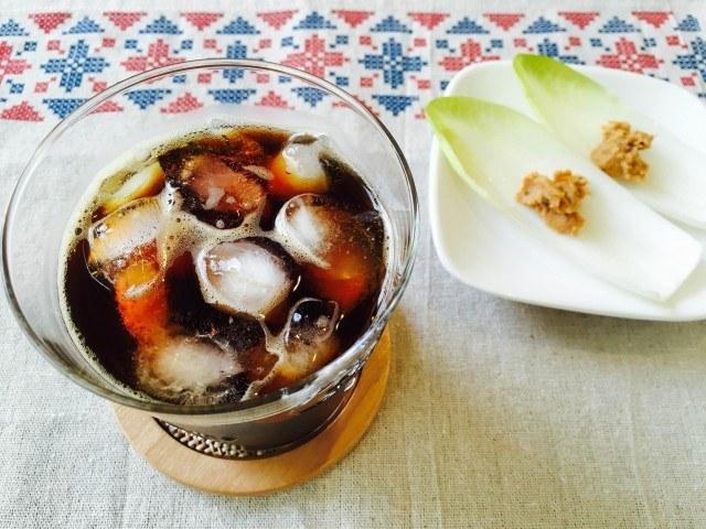 チコリアイスコーヒーの作り方【フレーバーコーヒーのレシピ】