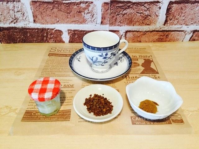 練乳黒糖コーヒー_材料
