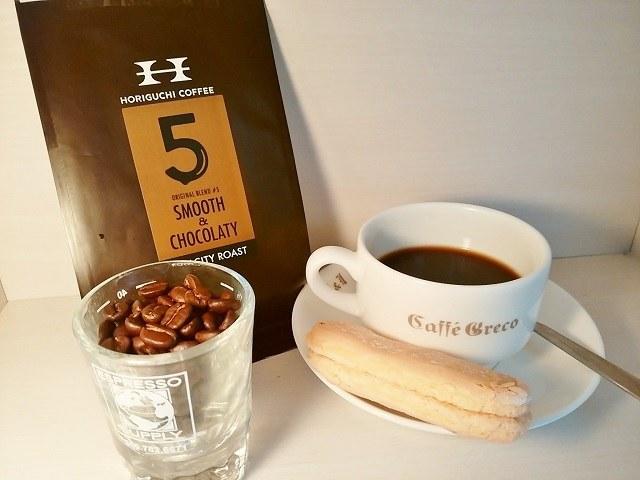 堀口珈琲 #5 SMOOTH&CHOCOLATY_コーヒー