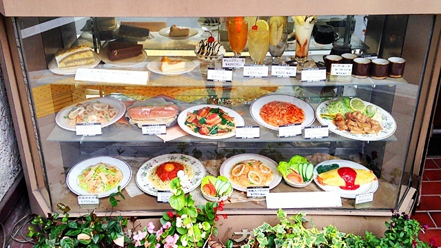 珈琲屋カフェモカ_食品サンプル