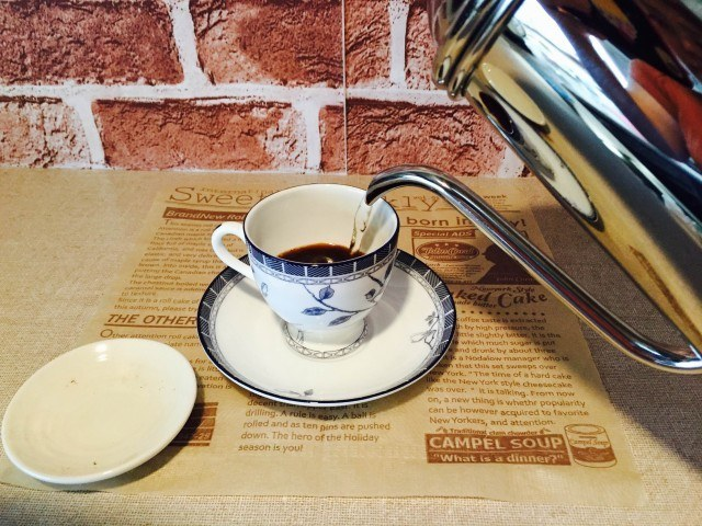 梅酒コーヒー_コーヒーを淹れる