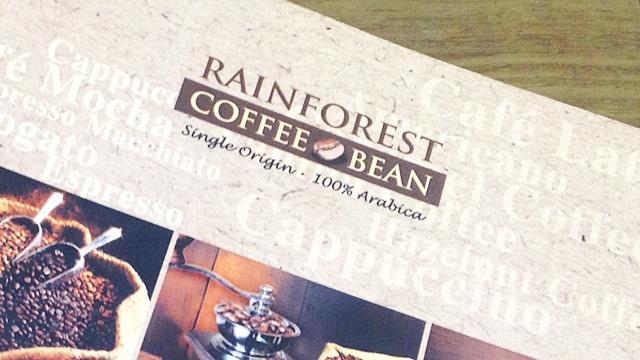 CoffeeatMalacca_メニュー帳