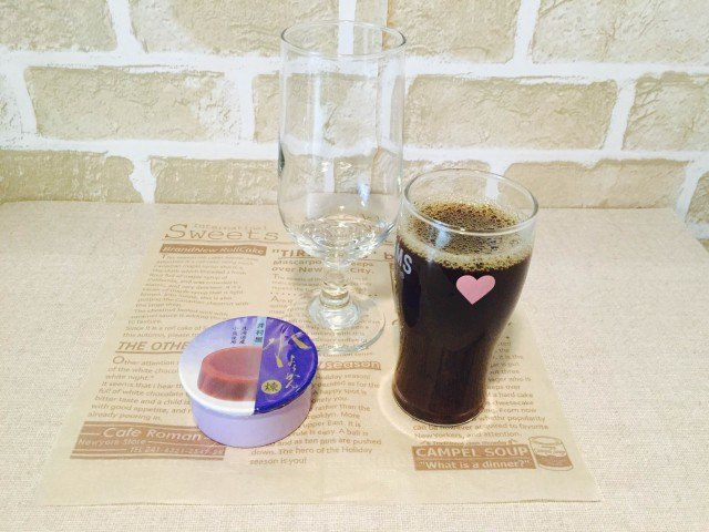水ようかんコーヒー_材料