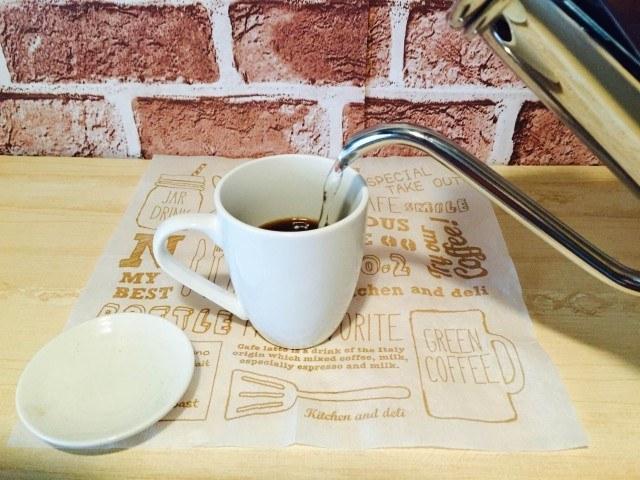 アップルシナモンコーヒー_コーヒーを入れる