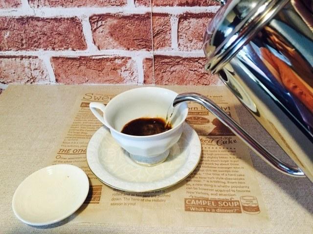 さつまいもコーヒー_コーヒーを淹れる