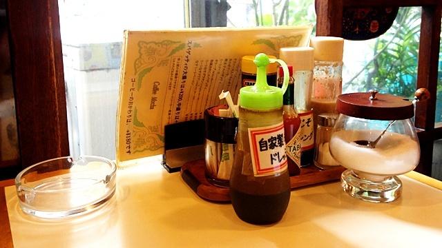 珈琲屋カフェモカ_テーブル