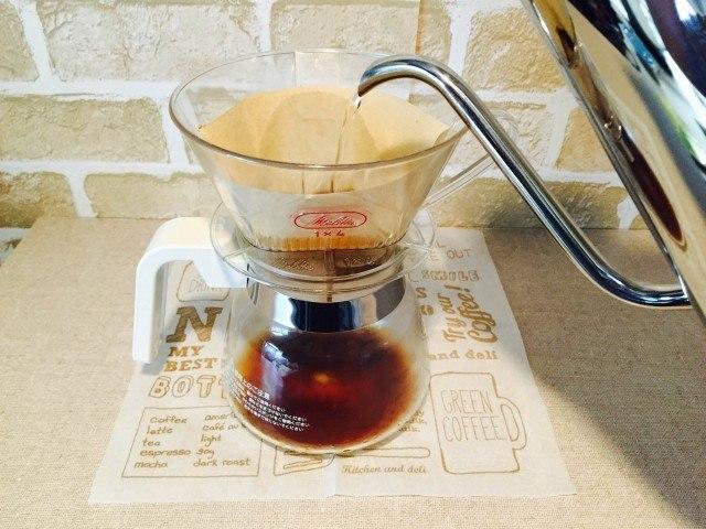 チコリコーヒー_抽出する