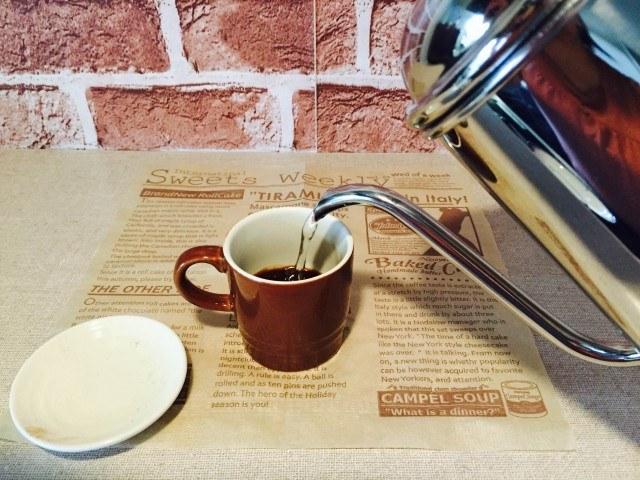 ラムコーヒー_コーヒーを淹れる