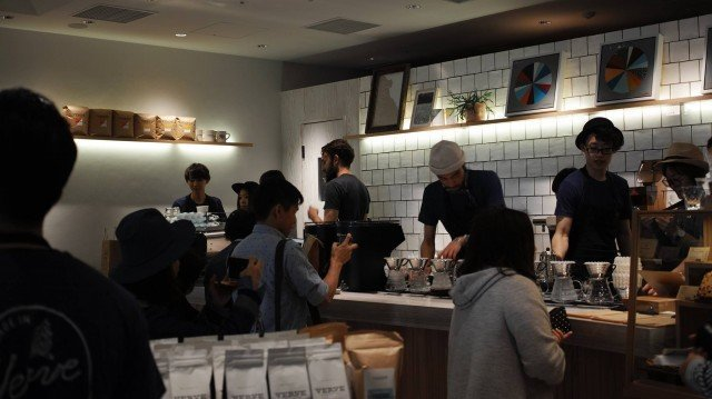 VERVE COFFEE ROASTERS_opening day